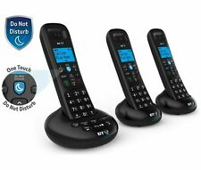 BT 3570 Trio Cordless Telephone with Digital Answer Machine Speaker & Caller ID