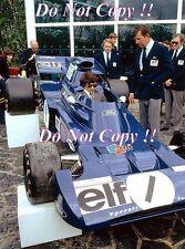 Francois Cevert Elf Tyrell 002 F1 Season Launch 1972 Photograph