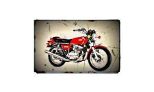 xs500c Bike Motorcycle A4 Retro Metal Sign Aluminium
