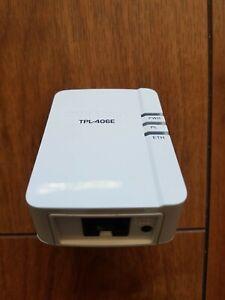 TRENDnet TPL-406E Gigabit Ethernet AV500 500Mbps Powerline Adapter