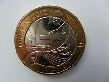 £ 2 Reino Unido moneda Dos Libras 2012 Juegos Olímpicos de Londres traspaso Rio Brasil Relé bimetálico