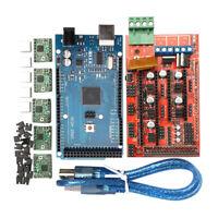3D Printer RAMPS 1.4 Board+Mega 2560 R3 Board+Soldered A4988 Driver