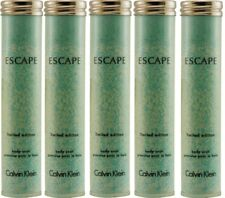 LOT OF 5 ESCAPE by Calvin Klein Body Soak For Women  2 oz/EA NEW.