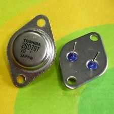 2 Pcs 2SD797 TO-3 2S D797 Silicio NPN Triple difusa tipo