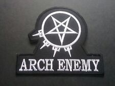 PUNK ROCK HEAVY METAL MUSIC SEW / IRON ON PATCH:- ARCH ENEMY