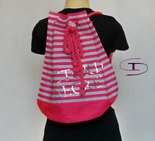 Victoria's Secret PINK STRIPED BACKBACK VS 1039