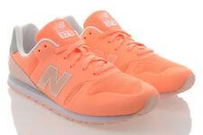 Scarpe da ginnastica arancioni per donna stringhe , Numero 37,5