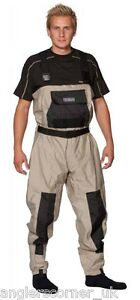 Ocean Breathable Waders / 100-70 Polyester/Teflon / Fishing