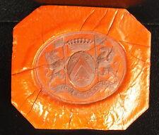 Famille De Luçay Cachet de cire armoirie seal Sceau tampon héraldique