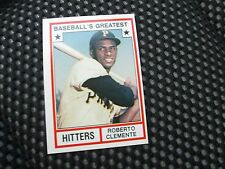 Roberto Clemente 1982 TCMA Baseball's Greatest Hitters # 4 GREAT CARD!!!