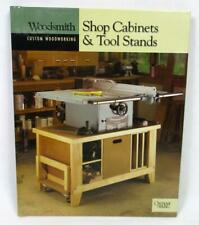 Woodsmith Custom Woodworking Shop Cabinets & Tool Stands Spiral Bound Book A-9