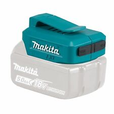 Makita USB ADAPTOR BATTERY CHARGER LXT 18V Two Outputs 2.1Ah Each Japanese Brand