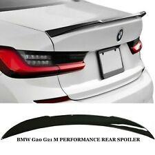BMW 3 SERIES G20 G21 AC STYLE REAR VALANCE SPOILER LIP DIFFUSER GLOSS BLACK