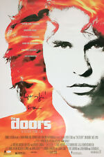 "VAL KILMER SIGNED THE DOORS MOVIE POSTER W/ ""LIGHT MY FIRE!"" JSA WITNESSED COA"
