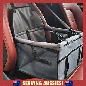 Car Booster Seat For Dog and Cat - Folding Pet Car Seats Pet Car Travel  - AU
