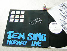 TEN SING NORWAY Something So Strong (Live) 1987 LP + INSERT TRIA MUSIC