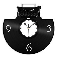 Writers Clock Vinyl Wall Clock Unique Gift for Friends Home Room Decoration