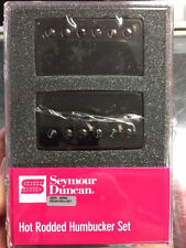 Seymour Duncan SH-4 JB & SH-2 Jazz Hot Rodded Humbucker Black Nickel Pickup Set