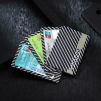 Carbon Fiber Magnetic Wallet, Modular Slim Light Black Card Holder Sell