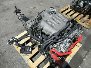 JDM VQ35DE NISSAN 350Z Z33 ENGINE 6 SPEED TRANSMISSION INFINITI G35 3.5L