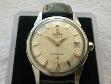 OMEGA CONSTELLATION PIE PAN STEEL CAL 561 AUTOMATIC 24 JEWELS