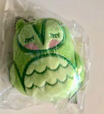 NEW Harley & Boss Owlet Plush Green Owl Ornament Nathan Jurevicius Andrea Kang