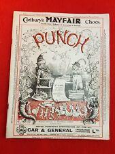 Vintage : PUNCH Magazine : 21st September 1927