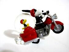 New ListingSnoopy Peanuts Charlie Brown Westland Giftware Snow Globe Joe Cool Biker