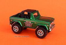 2007 Matchbox Loose 1972 '72 Ford Bronco 4X4 Metalflake Dark Green Brand New