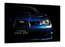 Subaru Impreza WRX Sti - 30x20 Inch Canvas Wall Art - Framed Picture Print