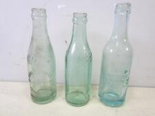 3 Different Antique Thomasville, Ca Soda Bottles- TIC, Chero-Cola & Crown