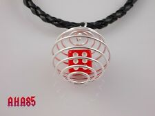 Unique Handmade Jewellery, Lucky Dice Spiral Cage Pendant Necklace Be Individual