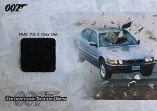 James Bond Archives 2014 Edition JBR36 Relic Card BMW Floor Mat
