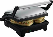Russell Hobbs 17888 3 in 1 Panini Grill & Griddle Sandwich Toaster Stainless