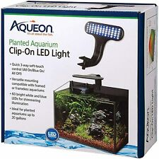 Aqueon Clip-On LED Light for planted aquariums up to 20 gallons