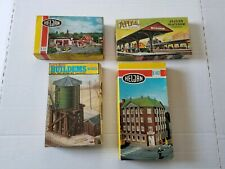 Lot Of Vintage HO Scale Empty Train Boxes With Assorted Intructions Parts And...