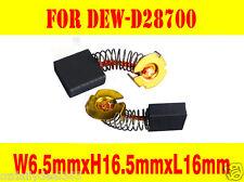 Carbon Brushes For Dewalt Chop Saw N039389 622437-00 D28700 D28715 GR870 GR871