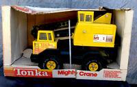 Vintage Tonka Mighty Crane #3925 W/Box 1983