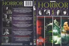 DVD:  5 MOVIE HORROR COLLECTION......HELLRAISER-PROPHECY
