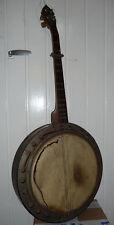 Ancien Banjo Des Années 1930's  à restaurer