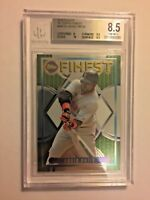 2015 Topps Finest '95 Topps Finest David Ortiz BGS 8.5 Red Sox
