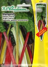 Mangold Bright Lights Samen Saatgut Gemüse Sämereien Seeds Spargel Aussaat