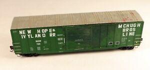 Accurail 50' Box Car New Hope & Ivyland #765 No Box 1/87 HO Scale