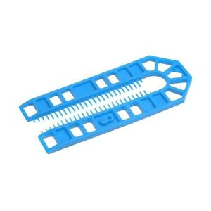 20 of 100*43*3mm Thick Plastic Packing Shims,Centre suits M12 bolts,Window/Door