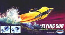 "Aurora Voyage To The Bottom Of The Sea ""Flying Sub"" Model Kit Sticker, Magnet"
