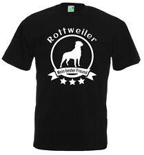 Rottweiler - Mein bester Freund, Hunde T-Shirt, Dogman, Gassimann      10-888-0-