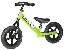 STRIDER 12 Sport Kids Balance Bike No-Pedal Learn To Ride Pre Bike GREEN NEW