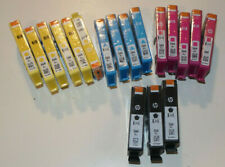 16 GENUINE HP 564XL INKJET CARTRIDGES! 3 BLACK/4 CYAN/4 MAGENTA/5 YELLOW & MORE!