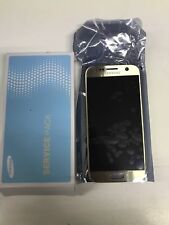 SAMSUNG Display LCD Originale + Touch Screen Per Galaxy S7 SM-G930F Oro Gold