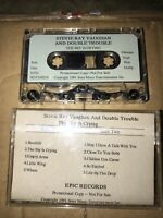 Stevie Ray Vaughan PROMO Cassette Tape The Sky Is Crying 1991 Epic Records